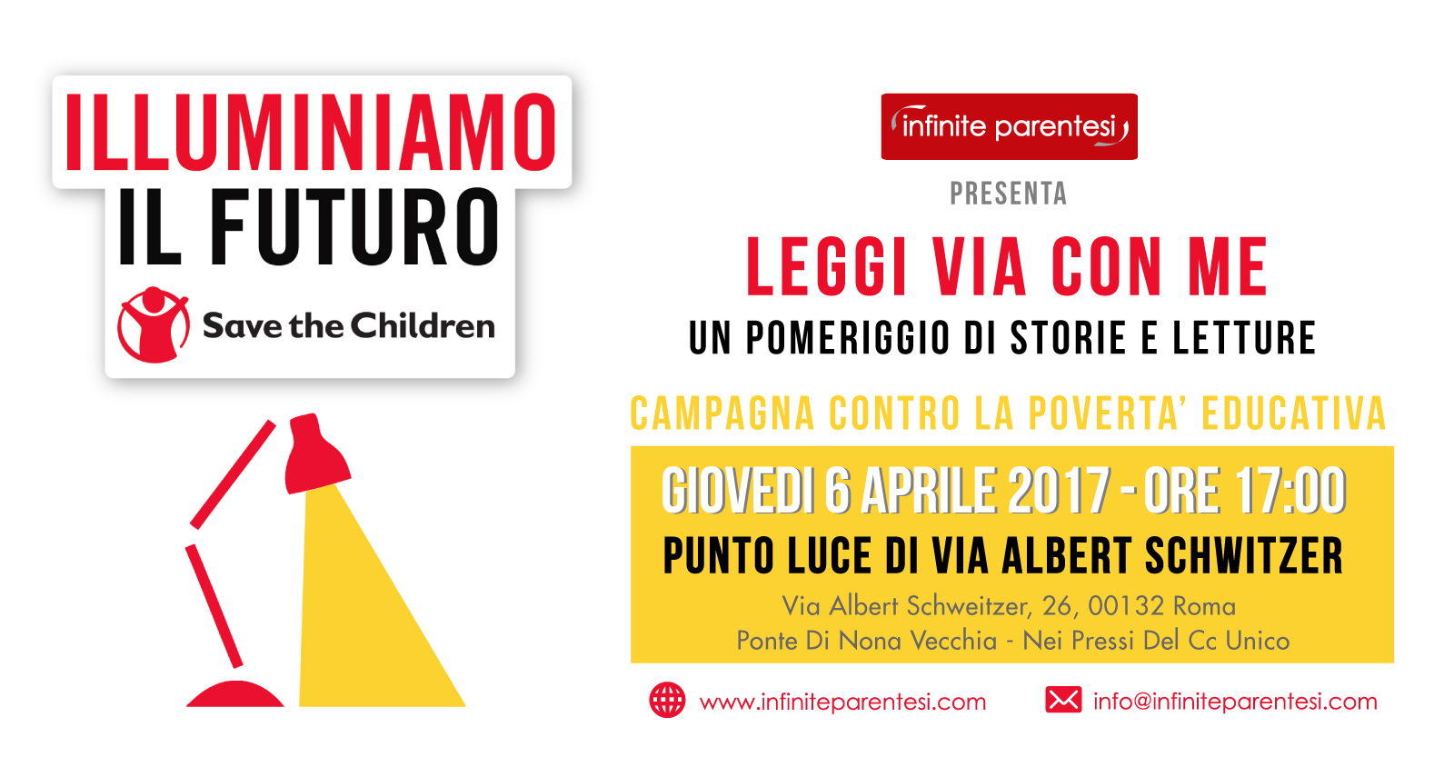 save the children - illuminiamo il futuro 2017